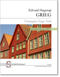 Grieg: Norwegian Songs Suite, NOMOS Edition Nms 001